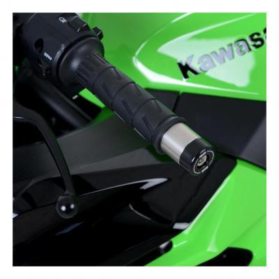 Embouts de guidon R&G Racing noir Kawasaki ZX-6R 95-17