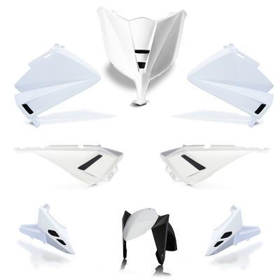 Kit carénage BCD avec LED / avec poignées / avec rétro Tmax 530 12-14 blanc