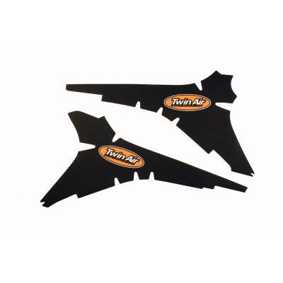 Kit déco boîte à air anti-dérapant Twin Air Noir pour Honda CRF 250 R 10-13