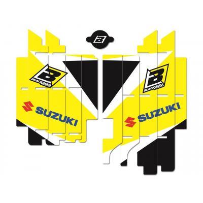 Kit déco de cache radiateur Blackbird Dream Graphic 3 Suzuki 450 RM-Z 18-20 jaune