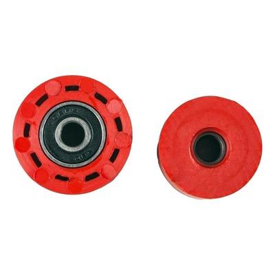 Kit roulette de chaîne UFO Honda CRF 250R 10-18 rouge (rouge CR/CRF 00-18)