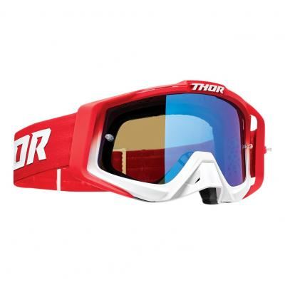 Lunette cross Thor Sniper Pro Fader rouge/blanc