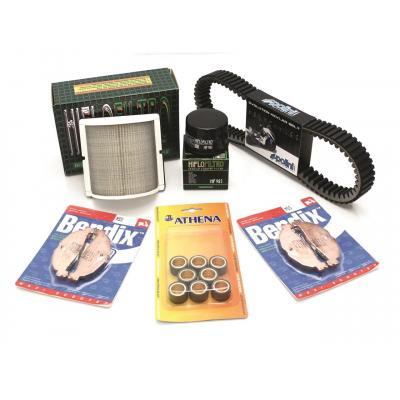 Pack entretien maxi-scooter Bihr pour Piaggio MP3 400 07-13