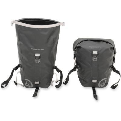 Paire de sacoches cavalières Moose Racing ADV1 Dry noir (20 Litres)