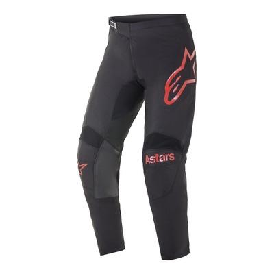 Pantalon cross Alpinestars Fluid Chaser noir/bright rouge