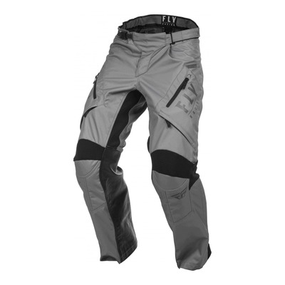 Pantalon enduro Fly Racing XC Patrol gris (over-boot)