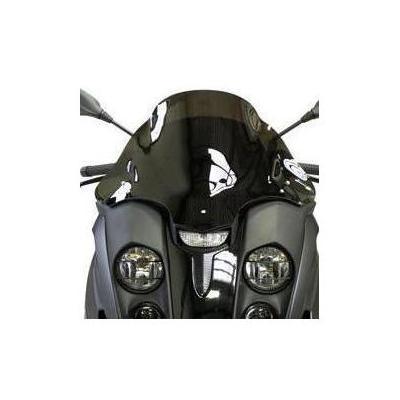 Pare-brise Bullster double courbure 47 cm fumé gris Gilera Fuoco 500 07-16