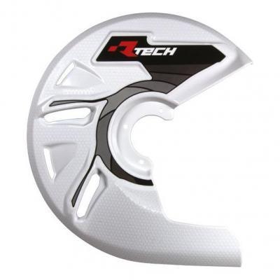 Protection de disque de frein avant RTech blanc