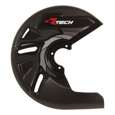 Protection de disque de frein avant RTech noir