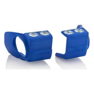 Protections pieds de fourches Acerbis Yamaha 125 YZ 08-18 bleu