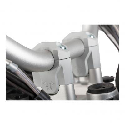 Réhausse de guidon SW-MOTECH gris BMW R1200GS LC / Adv 13-