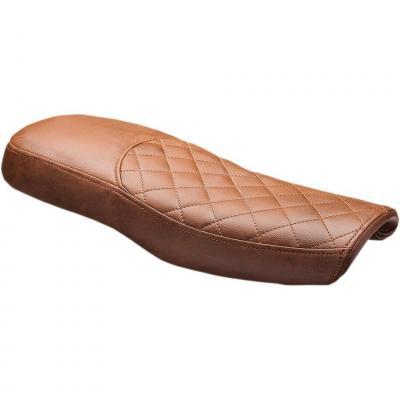 Selle scrambler C. Racer PESCRF7 marron coutures marrons