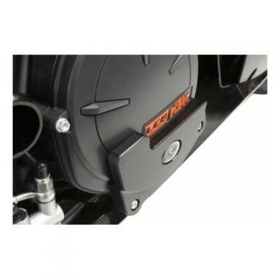 Slider moteur droit R&G Racing noir KTM RC8 09-14
