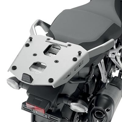 Support spécifique et platine en aluminium Kappa pour top case Monokey Suzuki DL 1000 V-Strom 17-20