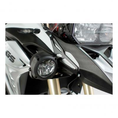 Supports pour feux additionnels SW-MOTECH noir BMW F 800 GS 12-18