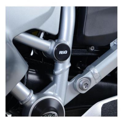 Insert de cadre R&G Racing central gauche noir BMW R 1250 RT 19-20