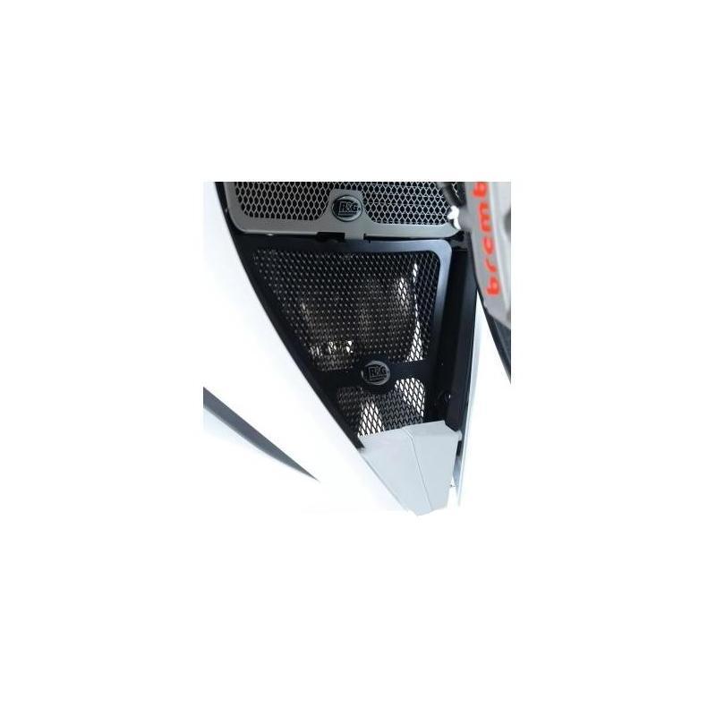 Grille de protection de collecteur R&G Racing noire Honda CBR 1000 RR 12-16