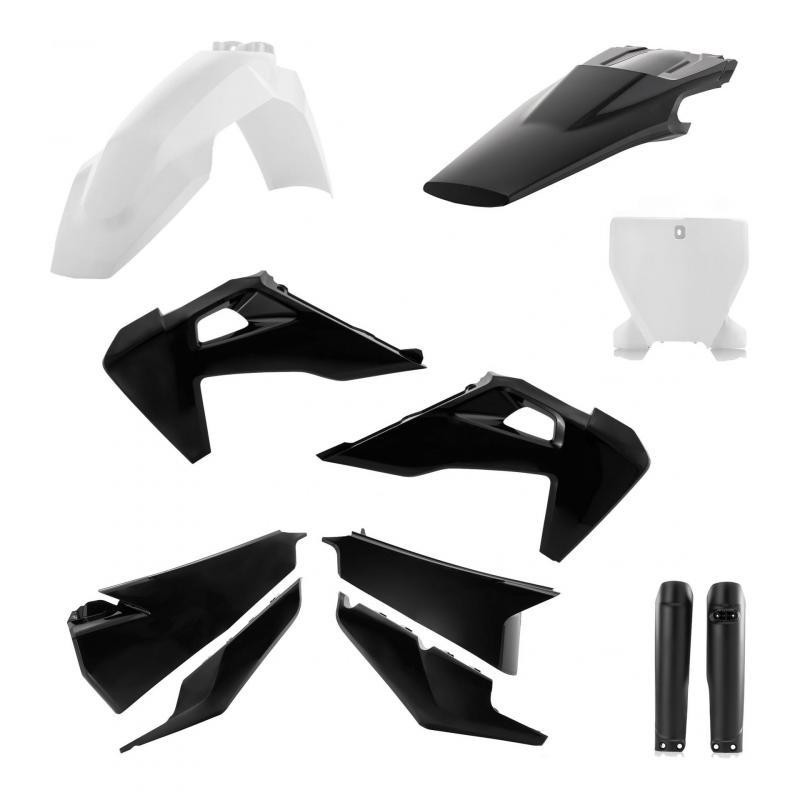 Kit plastiques complet Acerbis Husqvarna 250 FC 19-21 noir/blanc