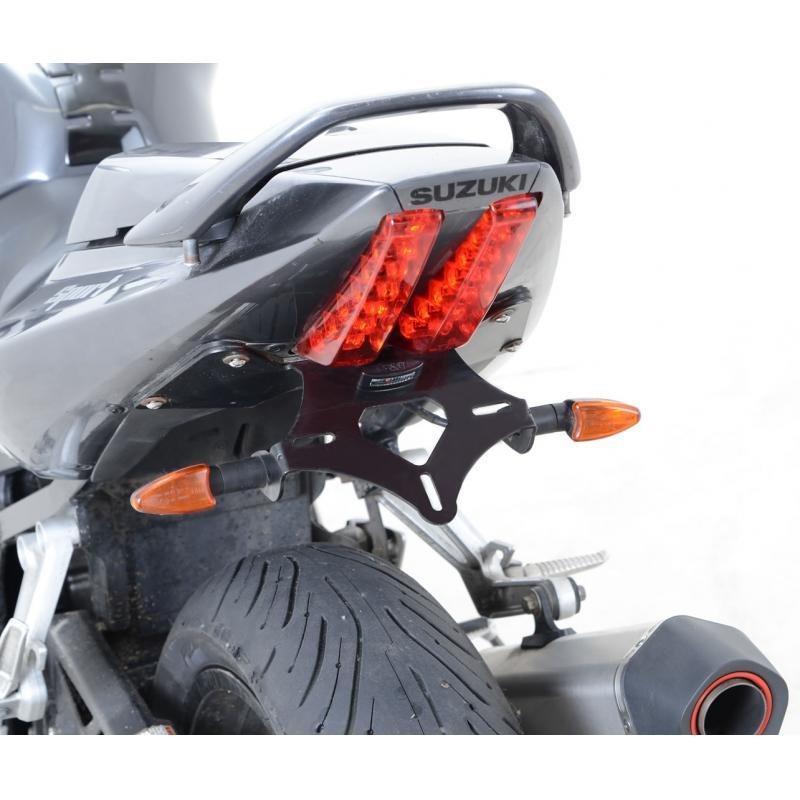 Support de plaque d'immatriculation R&G Racing noir Suzuki SV 650 07-15