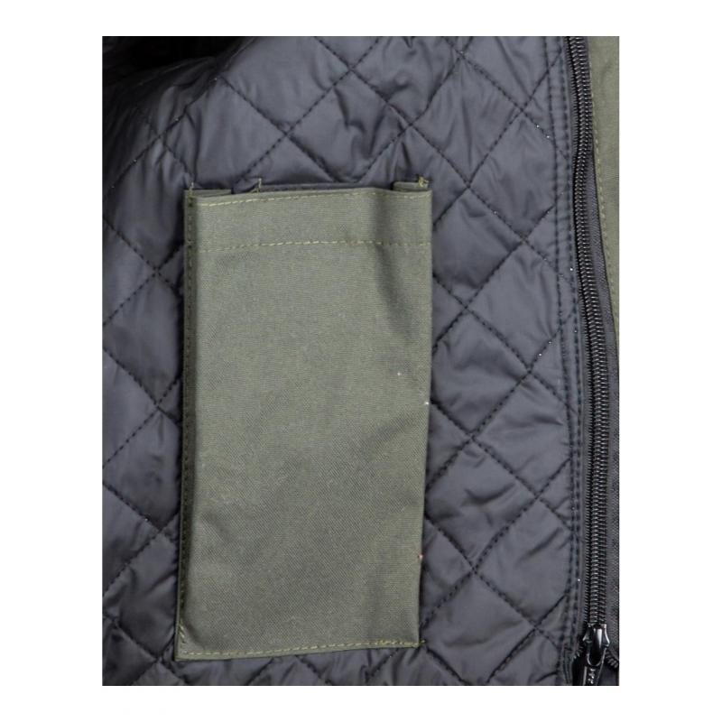 Blouson textile Helstons Cobra kaki/blanc - 4