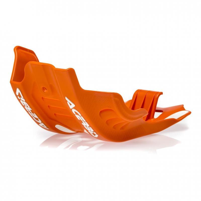 Sabot moteur Acerbis KTM 450 EXC-F 2020 orange/blanc