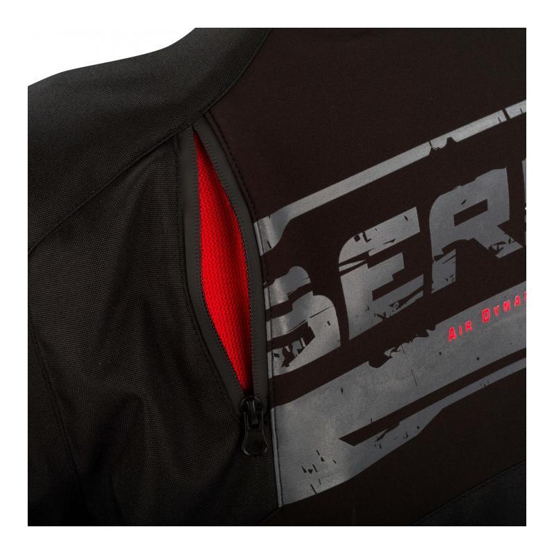 Blouson textile Bering Vikos noir/gris - 4