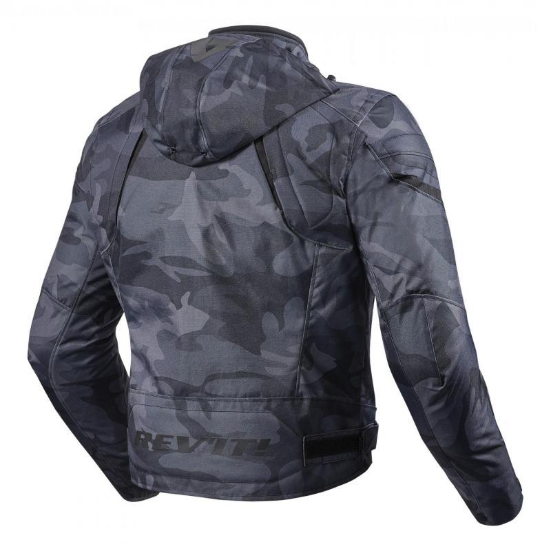 Blouson textile Rev'it Flare camo noir - 1