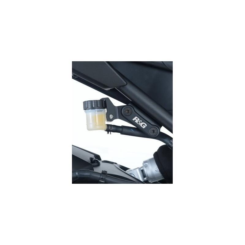 Caches orifices de repose-pieds arrière R&G Racing noirs Yamaha MT-09 13-18 - 2