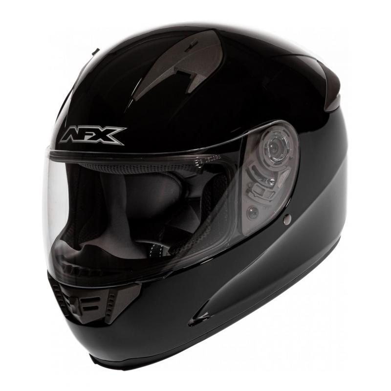 Casque intégral AFX FX-24 SOLID noir