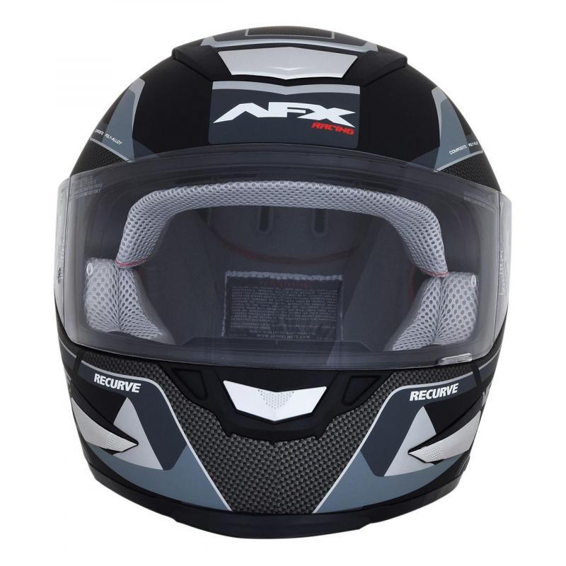 Casque intégral AFX FX99 noir mat/gris - 1