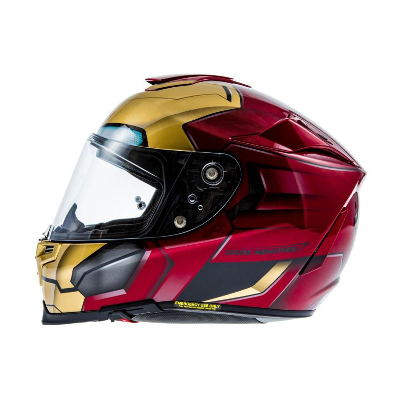 Casque intégral HJC RPHA 70 IRONMAN HOMECOMING MARVEL - 1