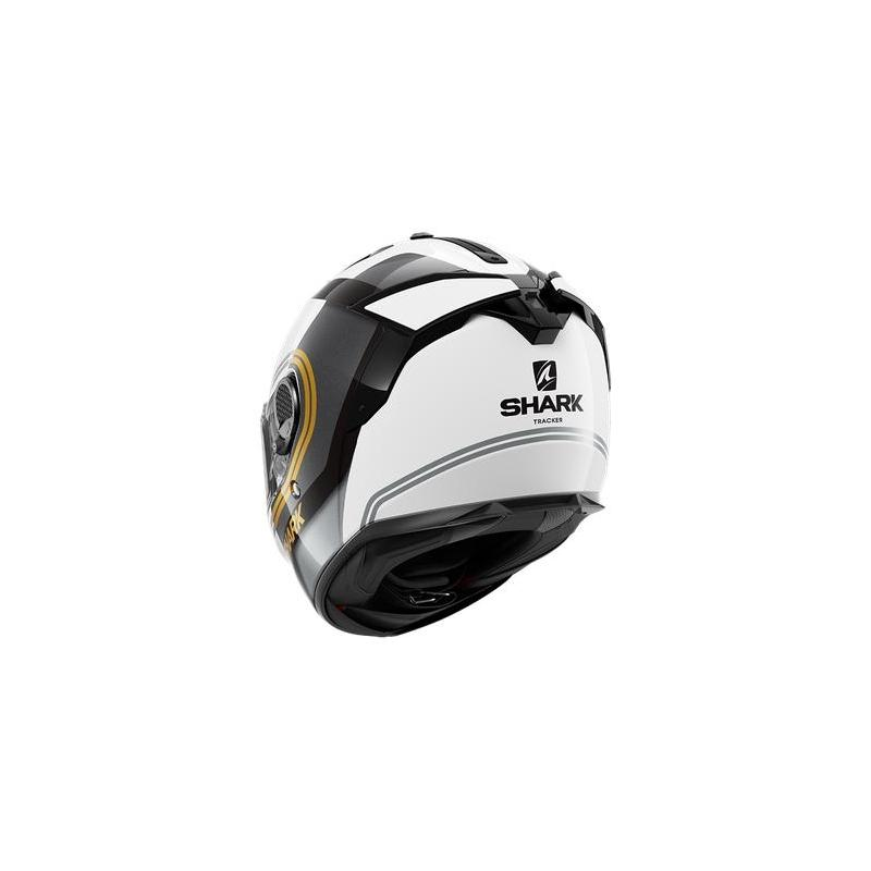 Casque intégral Shark Spartan GT Tracker blanc/noir/or - 1