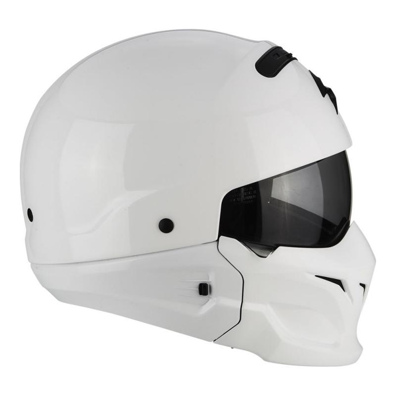 Casque Scorpion EXO-COMBAT blanc - 4