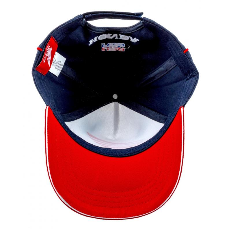 Casquette Baseball HRC navy/blanc/rouge - 3