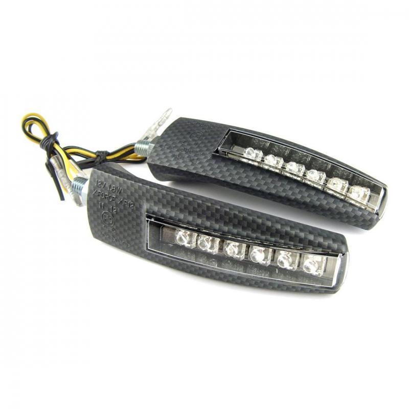 Clignotants TNT Tuning Viper LEDs homologués (paire)