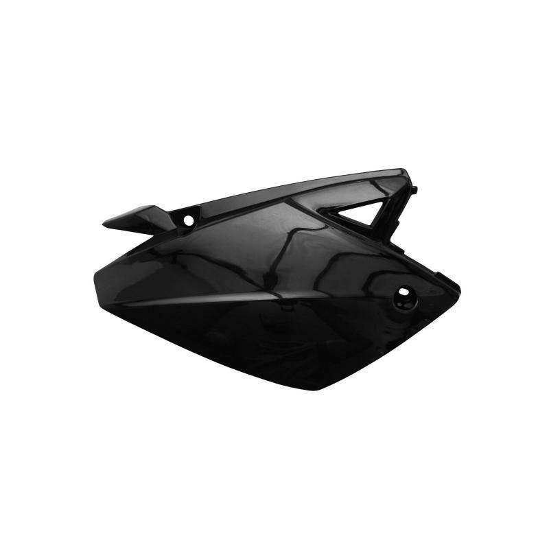 Coque arrière droit Rieju 50 MRT / MRT Pro 09- noir brillant