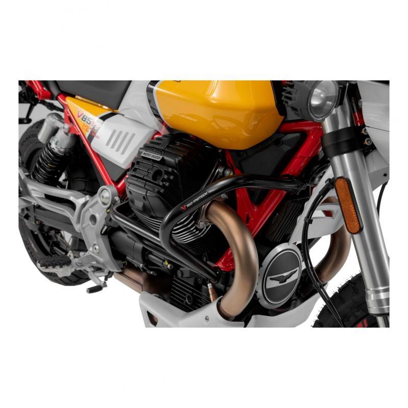 Crashbar noir SW-Motech Moto Guzzi V85 TT 2019