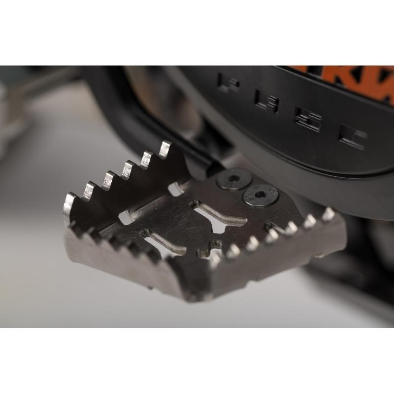 Extension de pédale de frein SW-MOTECH gris KTM Adventure 990 / 1050 / 1190 / 1290 / SMR - 1