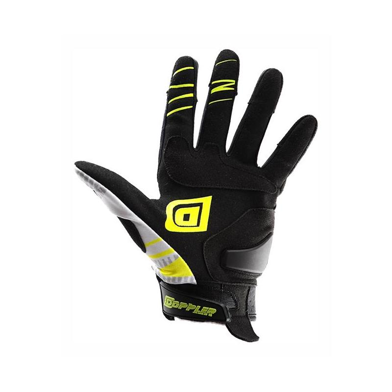 Gants cross Doppler blanc / jaune / noir - 3
