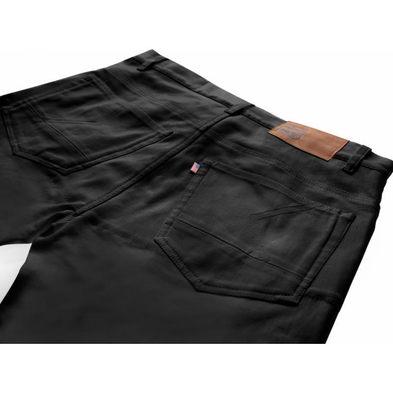 Jeans Blauer Kanvas noir - 2
