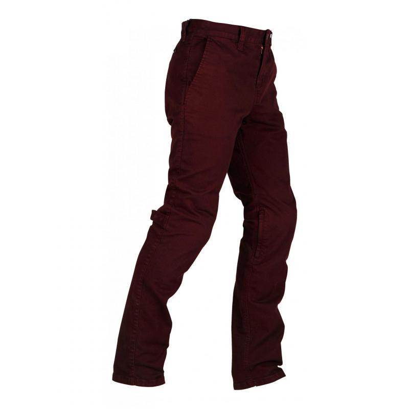 Jeans moto Furygan Berny rouge brique - 3