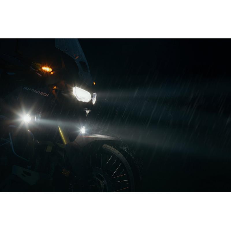 Kit feux anti-brouillard LED SW-MOTECH EVO Suzuki V-Strom 650 11-16 - 1
