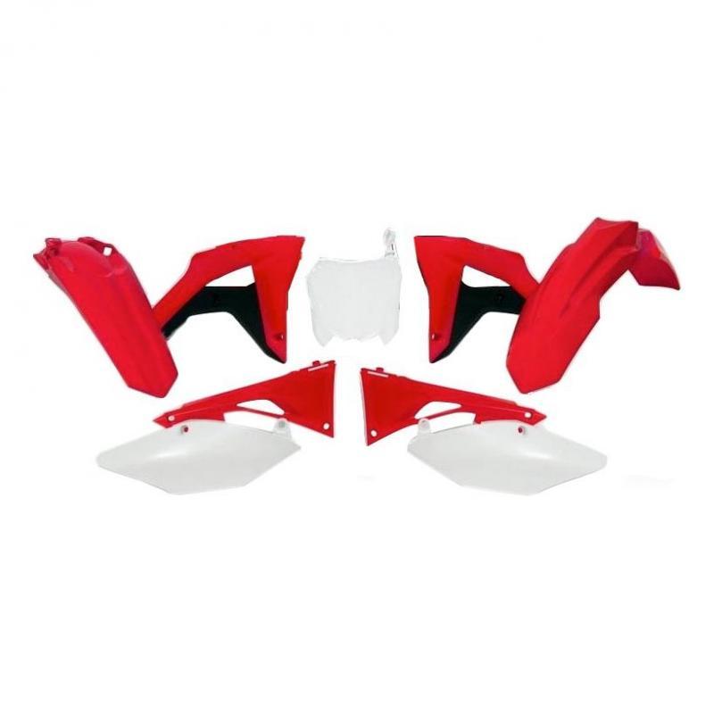 Kit plastique RTech Honda CRF 450RX17-18 noir/rouge/blanc (couleur OEM)
