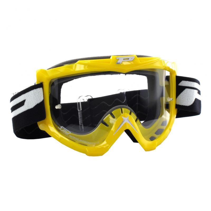 Masque cross Progrip 3301 jaune