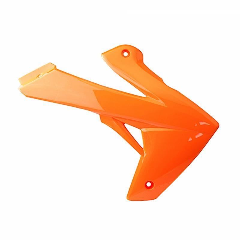 Ouïe de radiateur droit Rieju 50 MRT / MRT Pro 09- orange