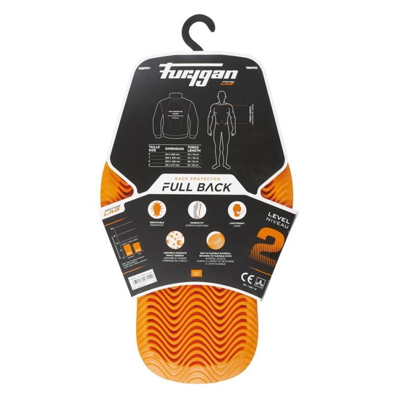 Protection dorsale Furygan D3O Full Back Fury - 3