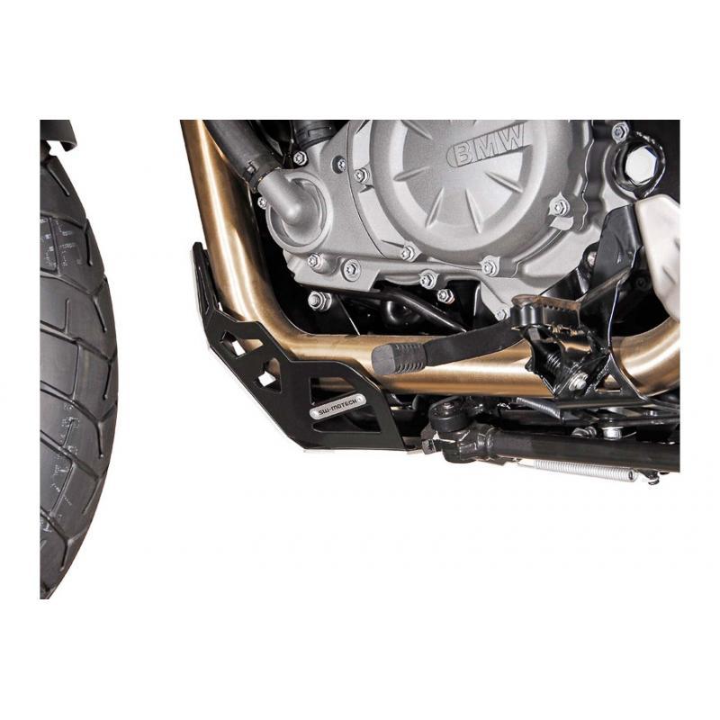 Sabot moteur SW-MOTECH noir BMW F650GS / G650GS / G650GS Sertao - 2