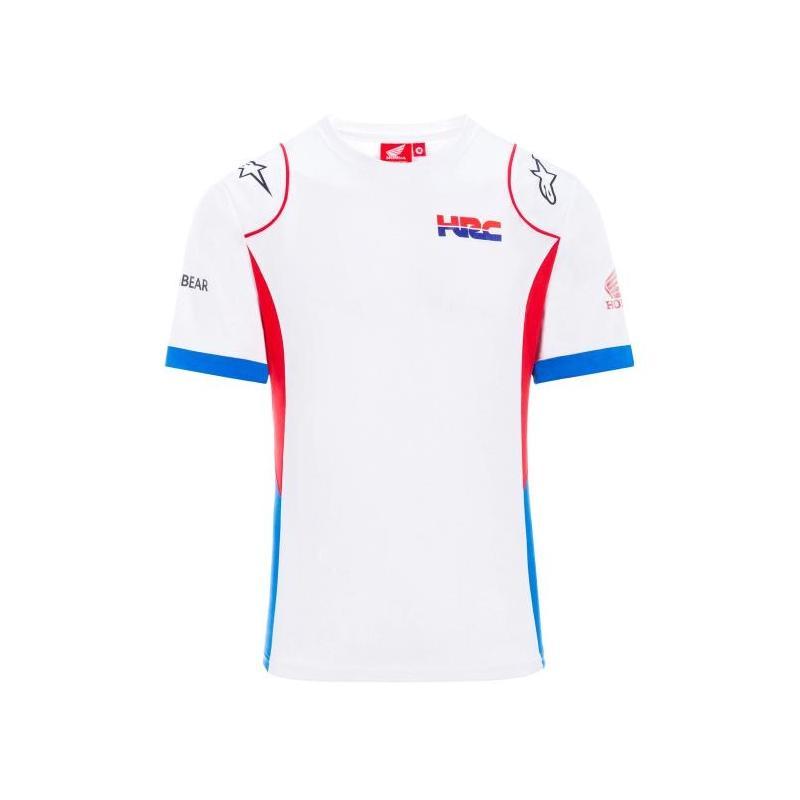 Tee-shirt Team HRC blanc/bleu/rouge