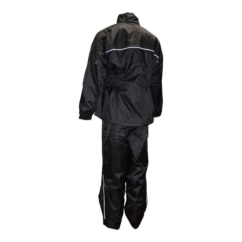 Veste et pantalon de pluie Trendy noir - 1