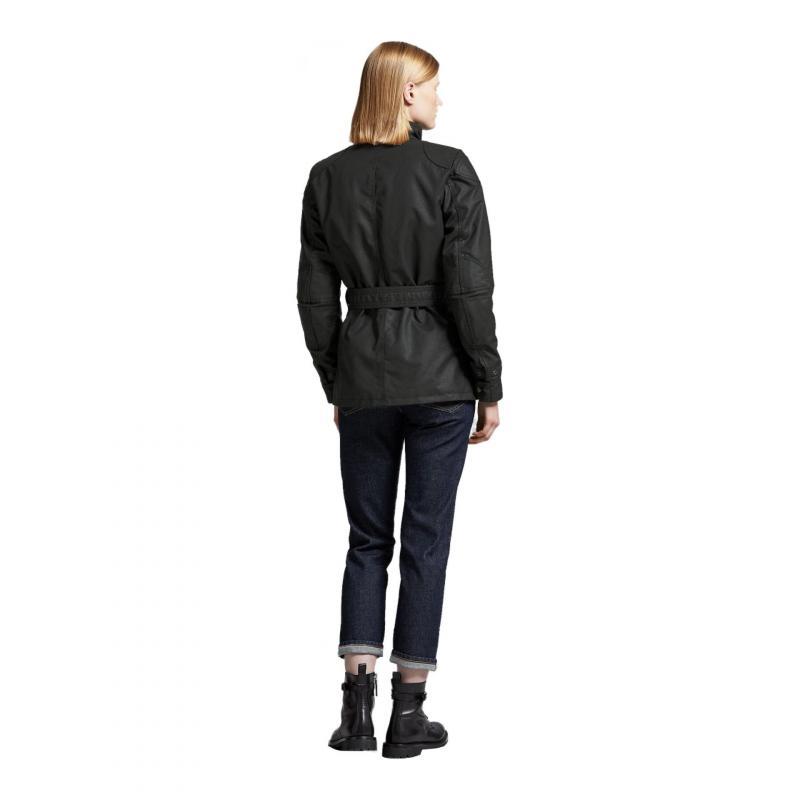 Veste textile femme Belstaff Trialmaster Pro Wax Racing Lady noir - 3